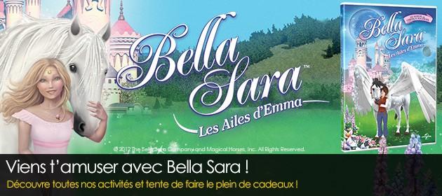 Gagne des cadeaux avec bella sara les ailes d 39 emma - Jeux de bella sara gratuit ...