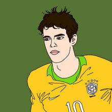 Coupe du monde de Football 2014, Coloriage JOUEURS DE FOOT