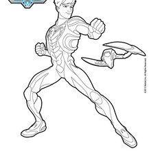 Max Steel à colorier