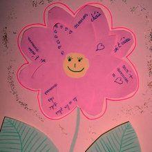 Fiche brico : La fleur poème