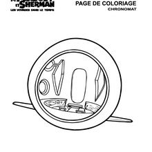 Coloriage : Chronomat