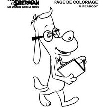 Coloriage : Mister Peabody