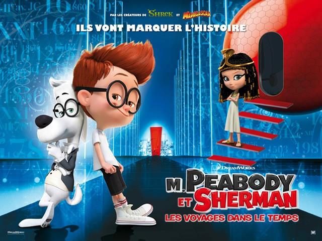 Coloriage M.PEABODY ET SHERMAN