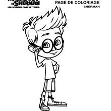 Coloriage : Sherman