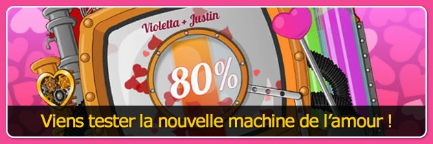 La calculatrice de l'amour