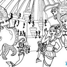 Coloriage Famille Magique.Coloriages Barbie Et La Magie Des Perles 36 Coloriages Barbie