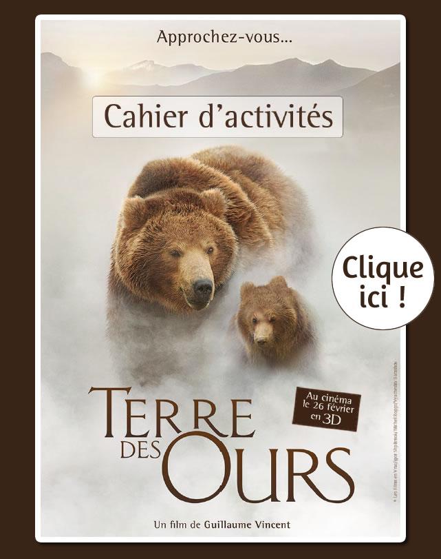 Terre des Ours : Cahier de jeux à imprimer