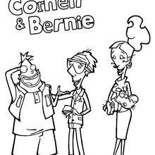 Coloriage : Bernie, John et Beth