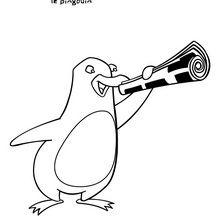 Coloriages jasper la p che - Jasper le pingouin ...
