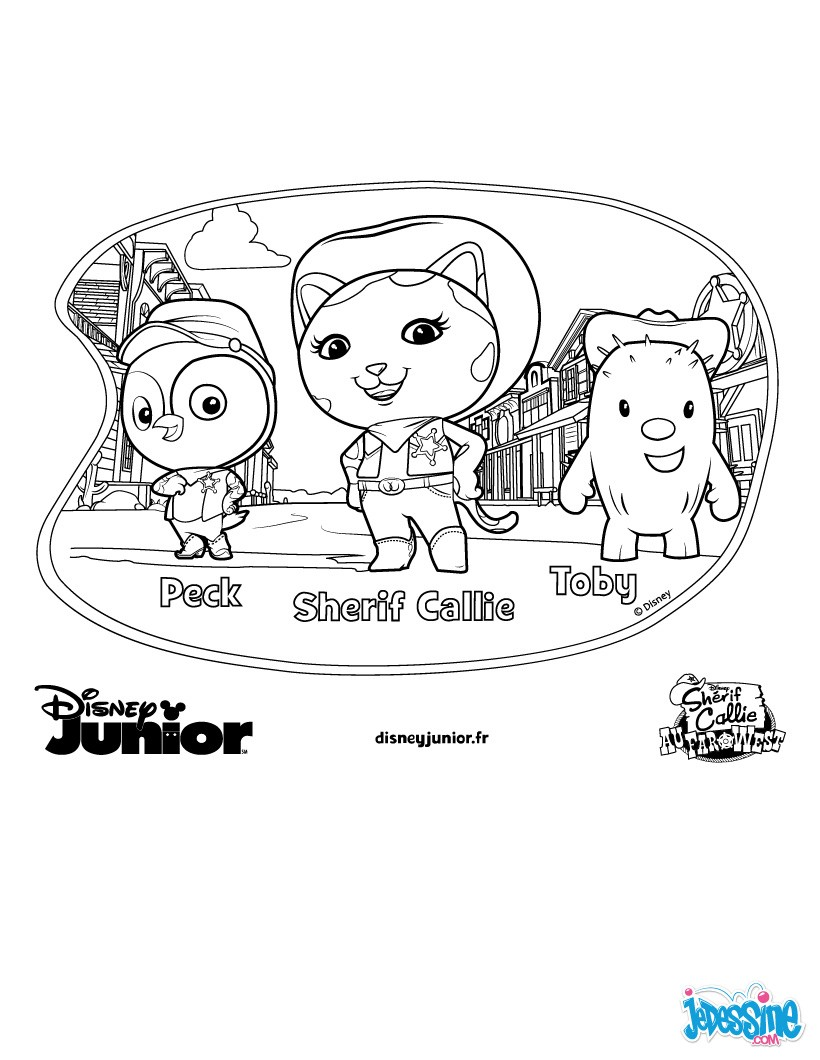 Coloriage A Imprimer Disney Junior Liberate Dessin Coloriage