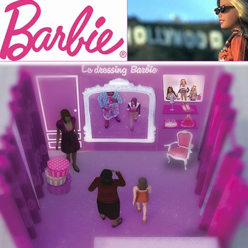 Barbie vous propose son premier dressing virtuel