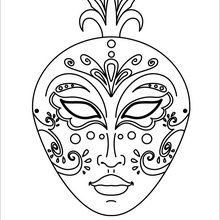 Masque élégant