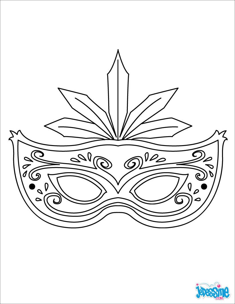Préférence Activités manuelles masque à plumes - fr.hellokids.com XT82
