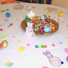 Activité : la nappe de Pâques