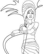 Princesse aztèque