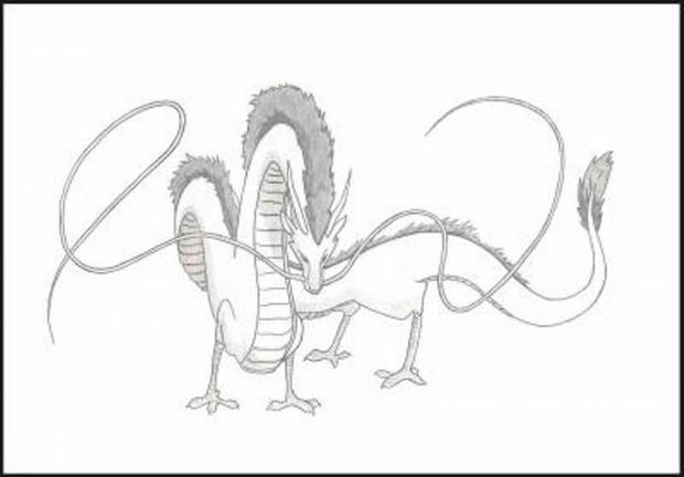 Comment dessiner le dragon de florian - Dessin un dragon ...