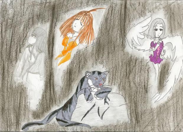 Dessin : Les personnages de Séphora