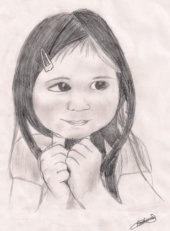 Comment dessiner visage d 39 enfant - Comment dessiner un enfant ...