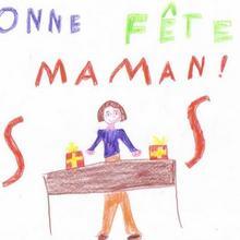 Dessin d'enfant : Anaïs Georges de La Boissière des Landes (France)