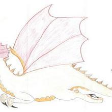 Dessin d'enfant : Le dragon de Celia