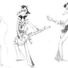 Dessin : Le rocker