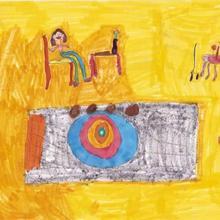 Dessin d'enfant : Leonie Ory de Suresne (France)