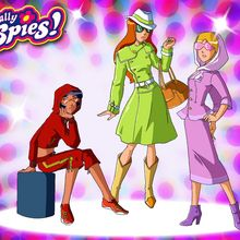 Fond d'écran : Totally Spies Incognito