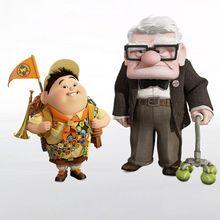 Carl Fredricksen et Russell