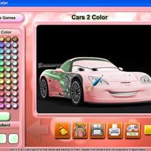 Logiciel : Cars 2 color
