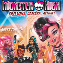 Coloriages Monster High - Frissons, caméra, action !