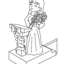 Coloriage : Un bouquet pour maman