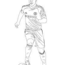 Coloriage : John Terry