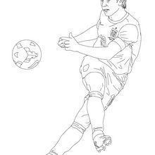 Coloriage : Frank Lampard