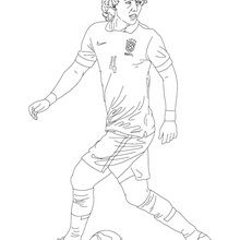 Coloriage : David Luiz