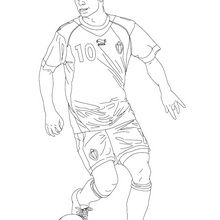 Coloriage : Eden Hazard