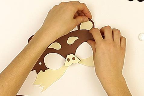 Le masque d'ours