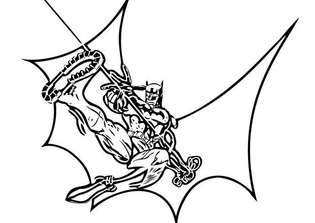 Coloriages lasso de batman - Coloriage batman ...