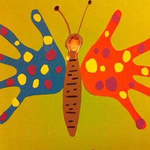 activite manuelle papillon