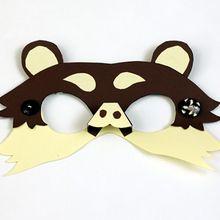 Masque d'ours en papier