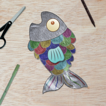 Les poissons d'Avril en aluminium