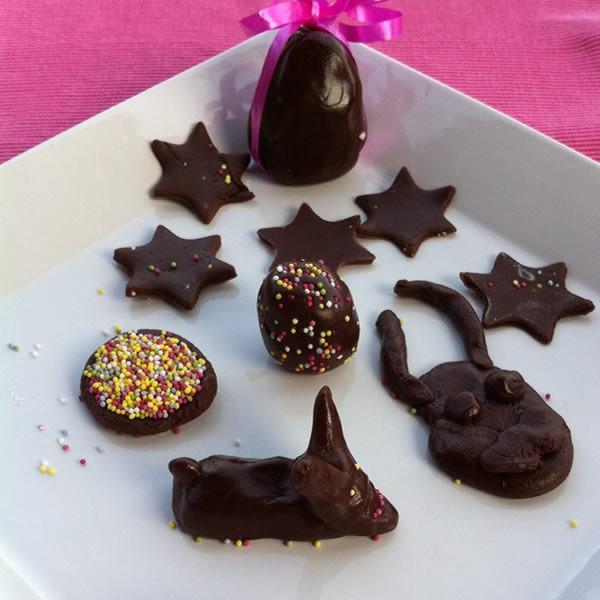 Activit s manuelles p te modeler au chocolat fr - Pate a modeler cuisine ...