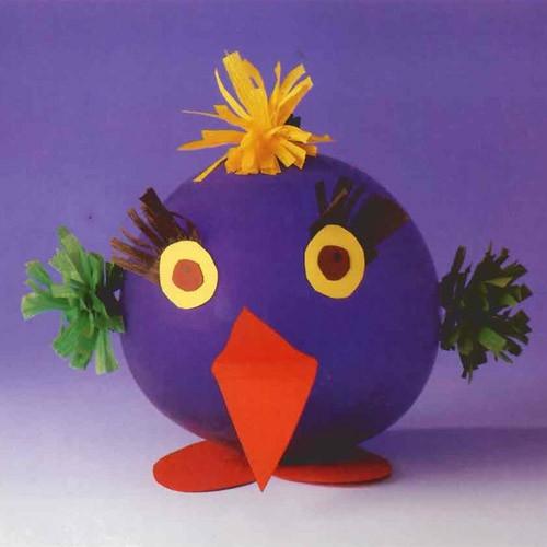 Top Activités manuelles oiseau-ballon - fr.hellokids.com YR75