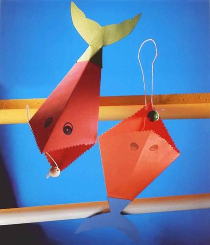 Poisson gobe-perle - Bricolage