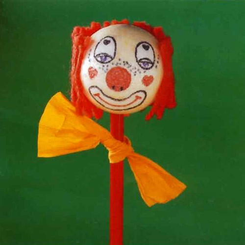 Porte-clown - Bricolage
