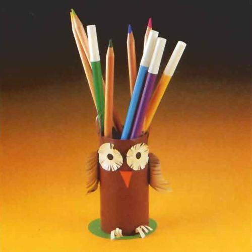 fabriquer un pot à crayon