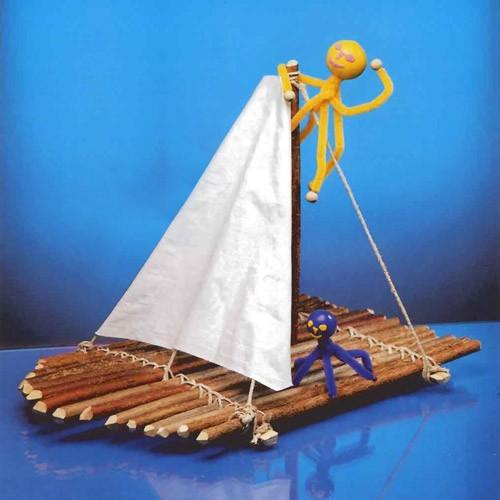 activite manuelle bateau qui flotte