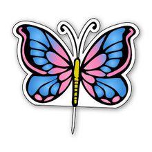 Décoration de gâteau : Le papillon
