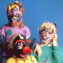 masques en papier mâché