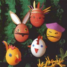 Oeufs de Pâques lestés