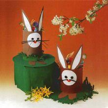 Activité : Panier de Pâques Lapin